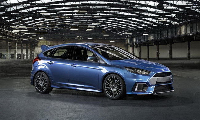 Ford Focus RS представлен на Женевском автосалоне 2015