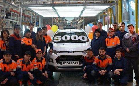 5000-� ������������� ��������� EcoSport ���������� � ���������� ������