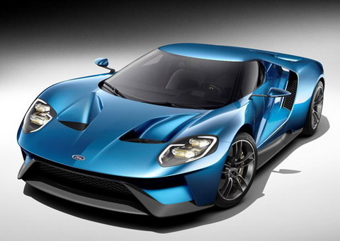 ����� Ford GT ������� ������� ��������� 2015 ����