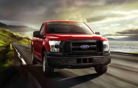����� Ford F-150 ������� ���������� ������ �� �������� ����
