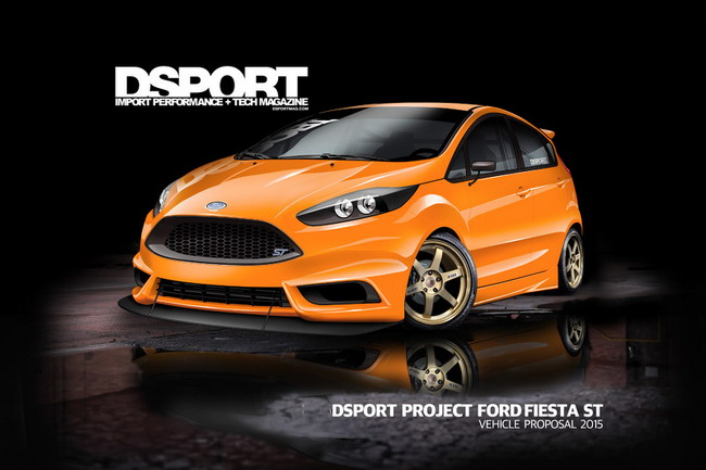 Форд представит две модифицированных Fiesta ST на SEMA