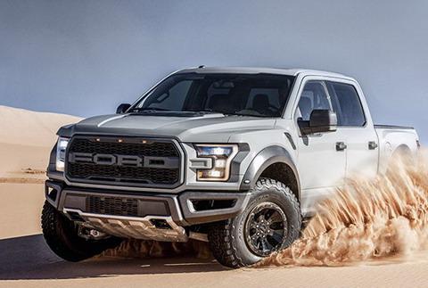 Ford представил новые версии Ford Fusion и F-150 Raptor