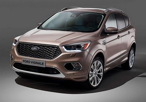 Ford показал роскошный вариант кроссовера Kuga