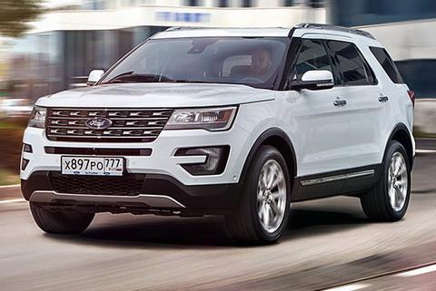 На заводе Ford в России выпущен 15000-й Explorer