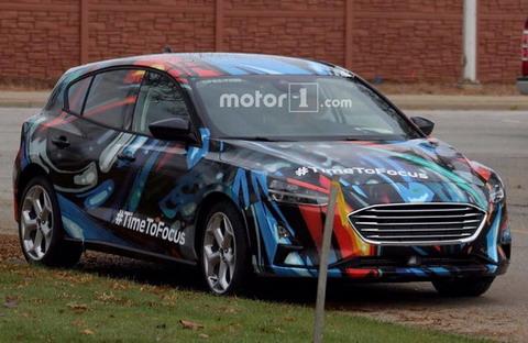 Презентация нового Ford Focus состоится в январе 2018 года